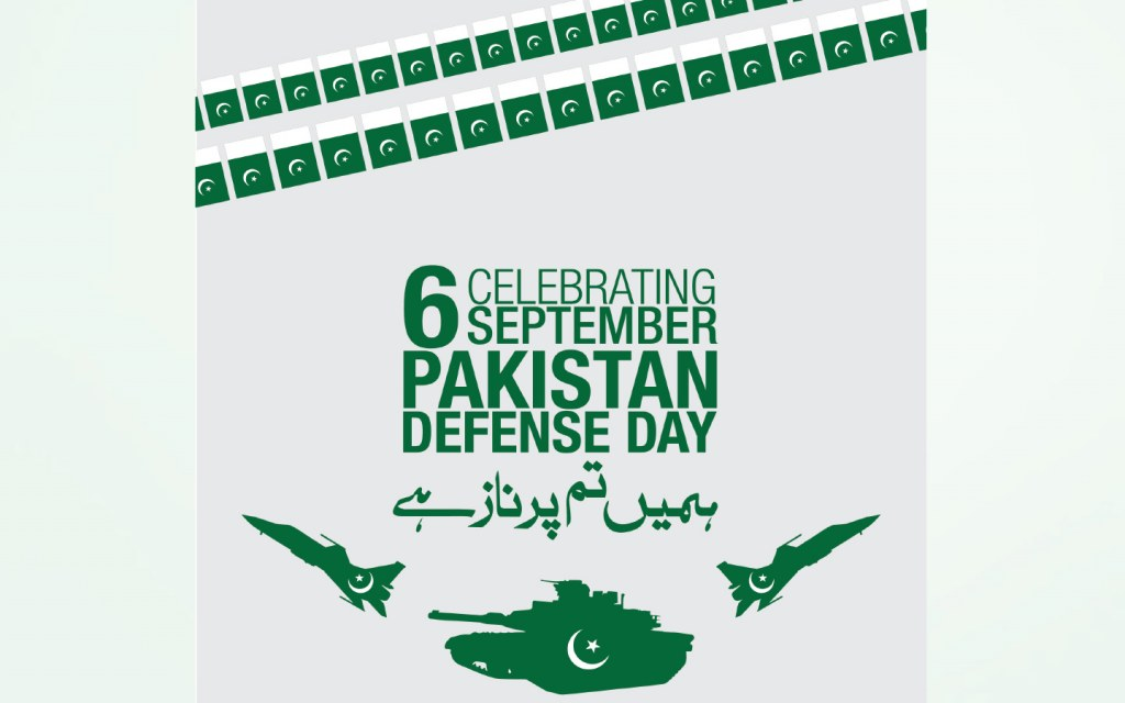 Defence Day is held on 6th September every year