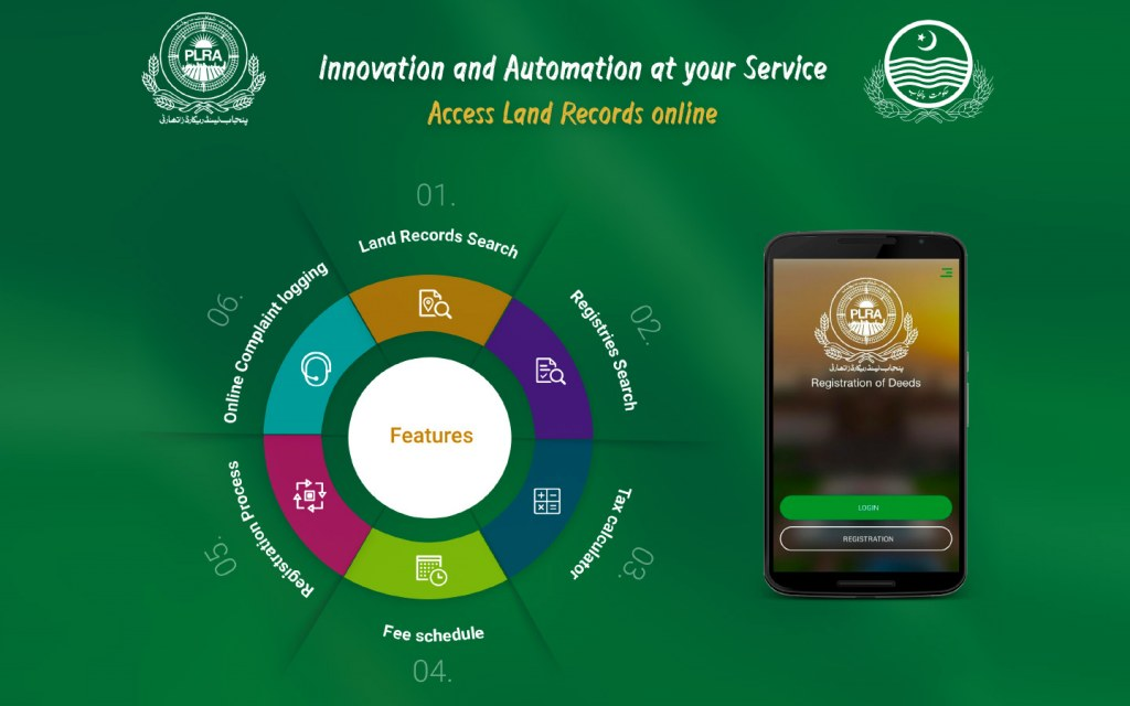 Through the Digital-PLRA App you can easily have access to land records, property tax calculator and other services