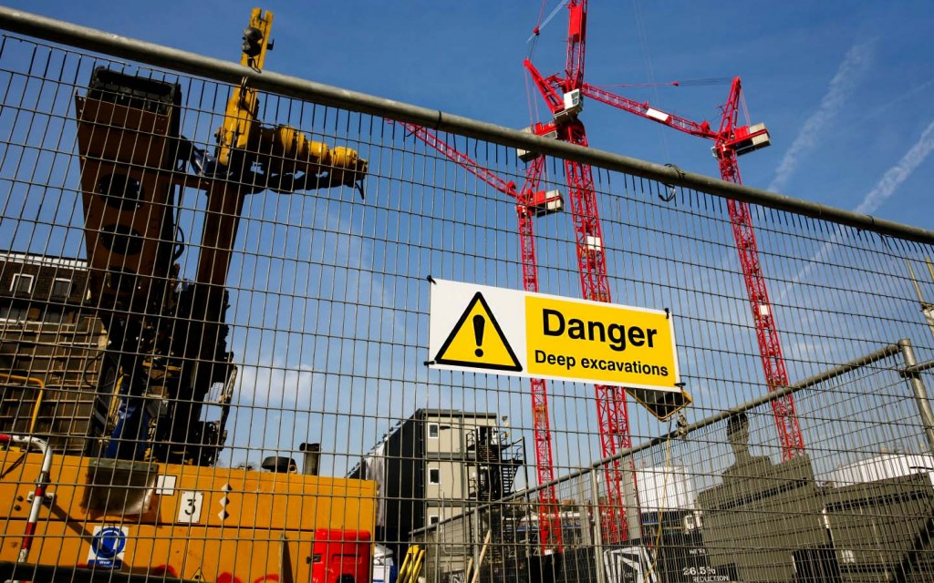 Seek support in case of any accidents at construction sites