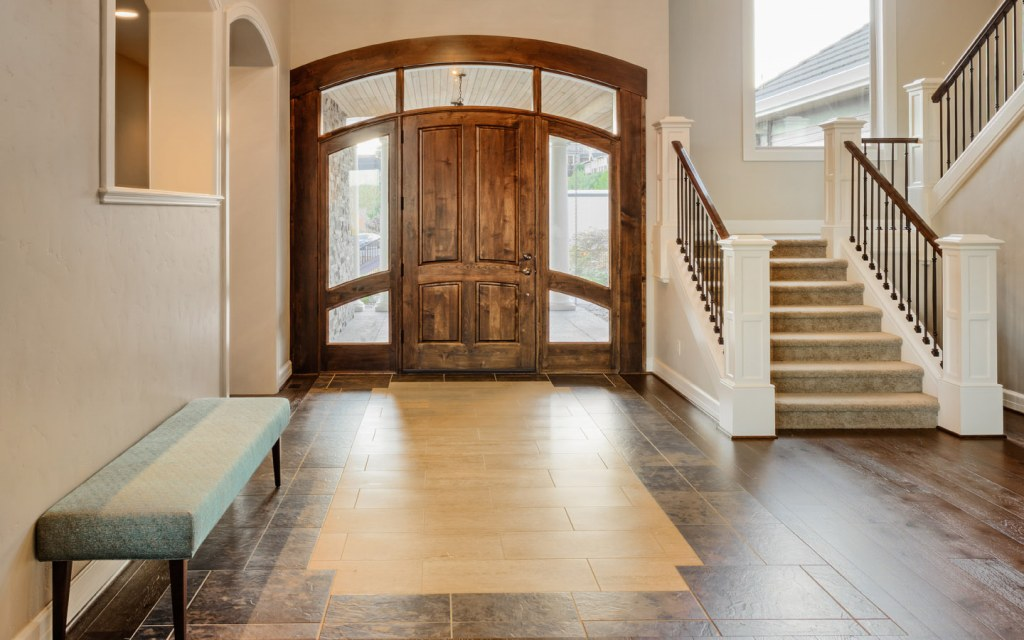To help old people live a comfortable life keep entryways well-lit