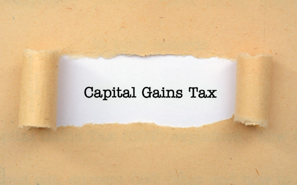Capital Gains Tax is paid on the gross amount received from the buyer