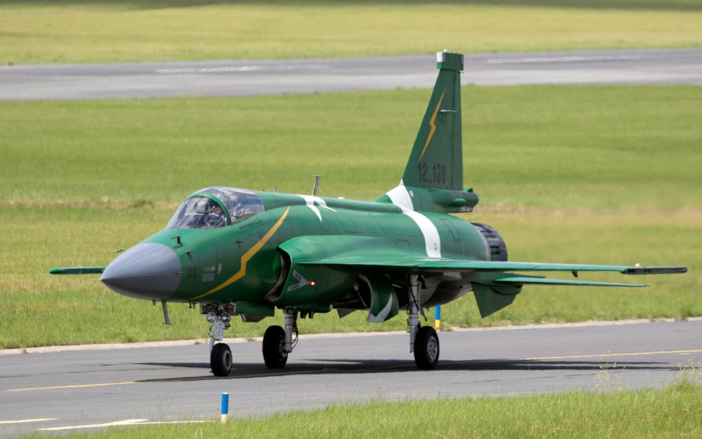 JF-17 Thunder is a fighter plane jointly produced by Pakistan and China