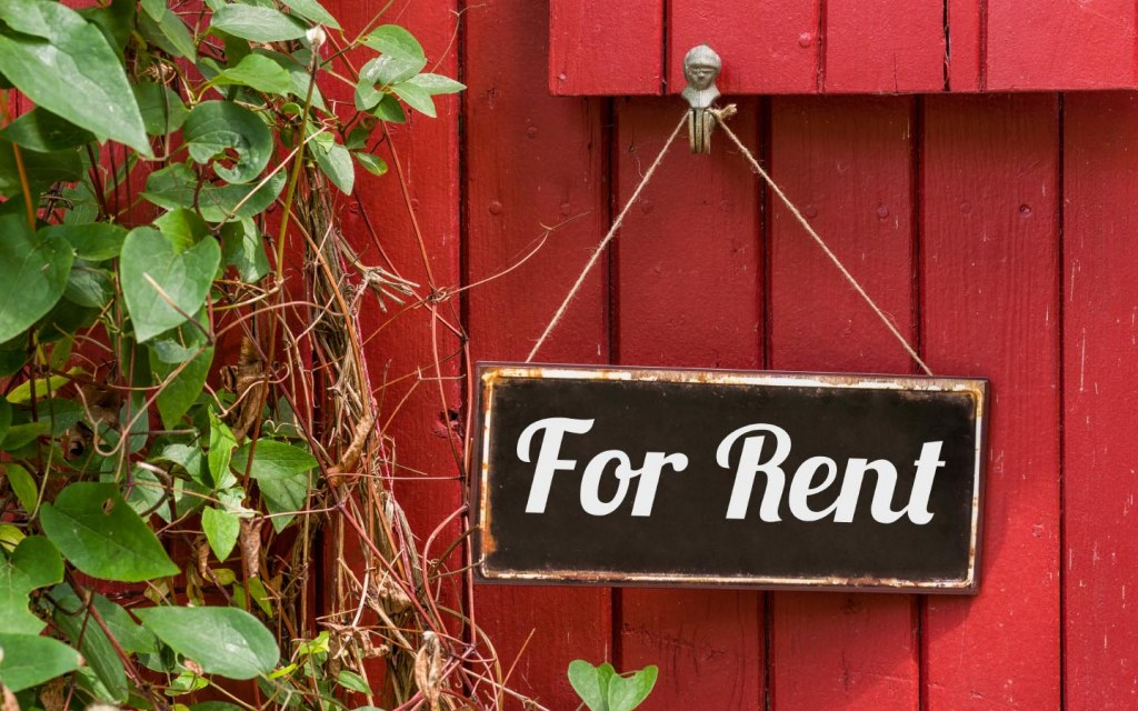 Turn your house into a rental property