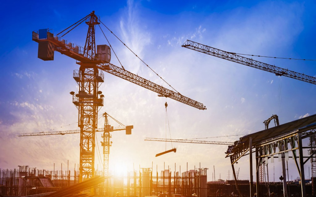 Stay away from moving objects at construction site