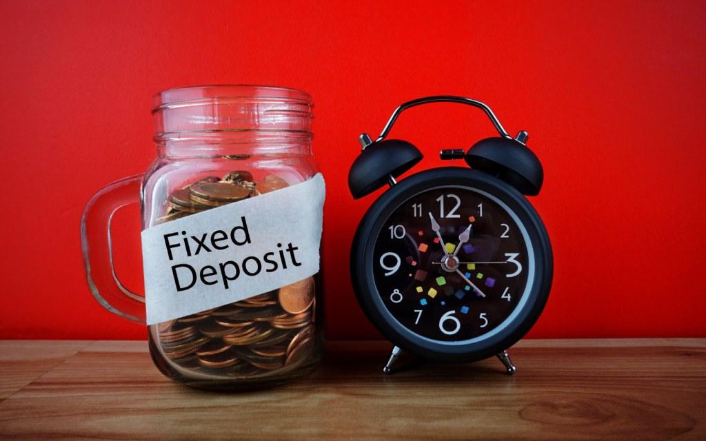 Fixed deposit accounts