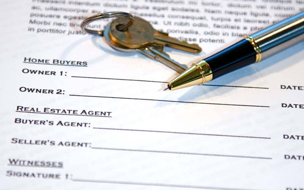 Legalise all property transactions by getting them in writing