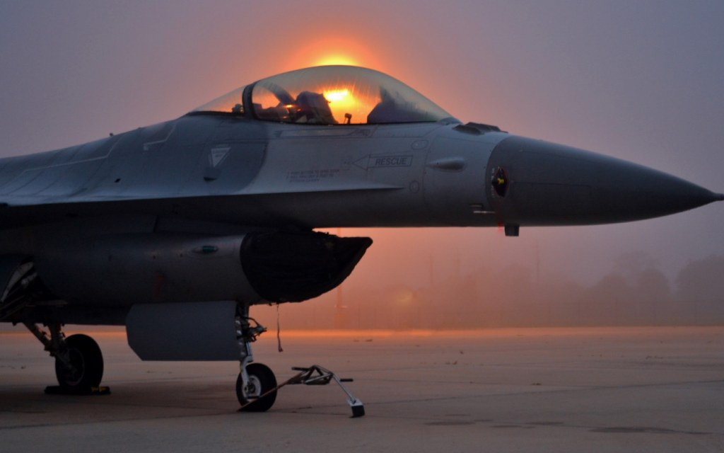 General Dynamics F-16 Fighting Falcon is one of the fastest fighter jet