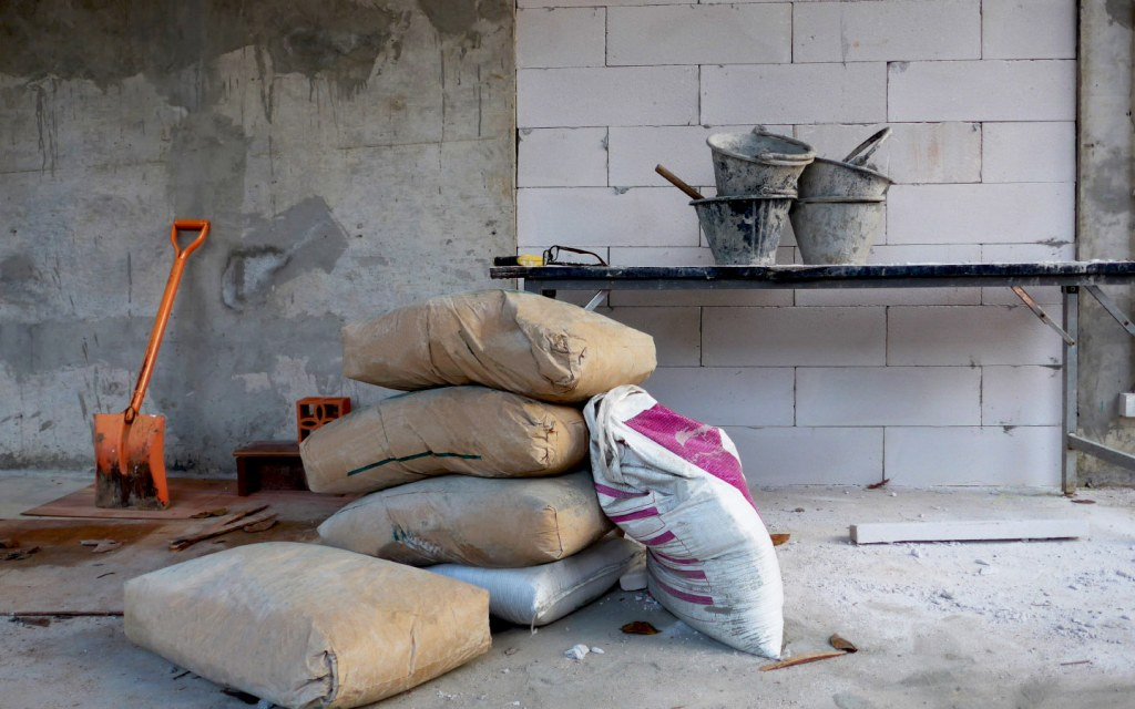 construction material for building a house