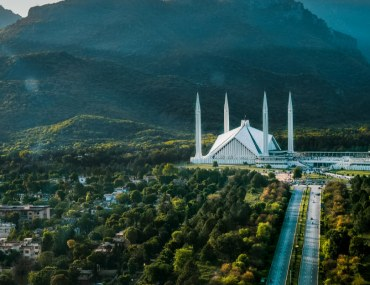 Construction of Korang Bridge in Islamabad