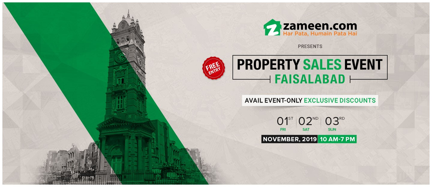 Property Sales Event returns to Faisalabad in November 2019