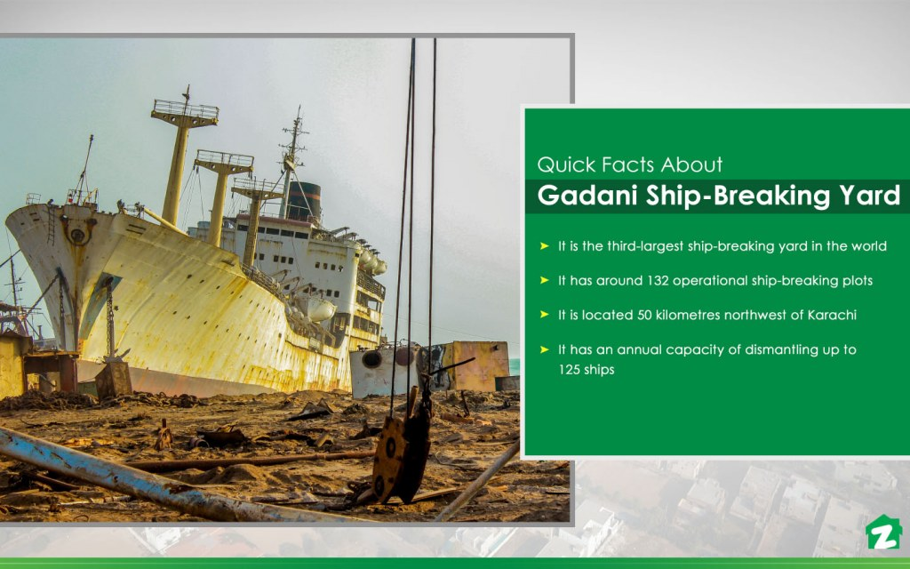 Quick Facts About Ship-Breaking Yard in Gadani
