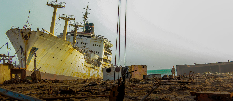Gadani ship-breaking yard
