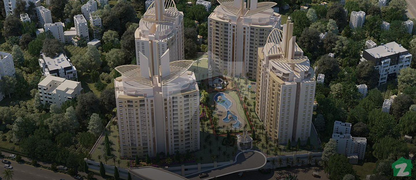 There are 2, 3, and 4 bedroom apartments for sale in Burj-ul-Harmain