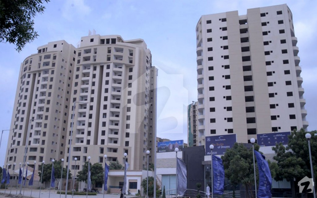 Burj-ul-Harmain is almost ready for possession of flats