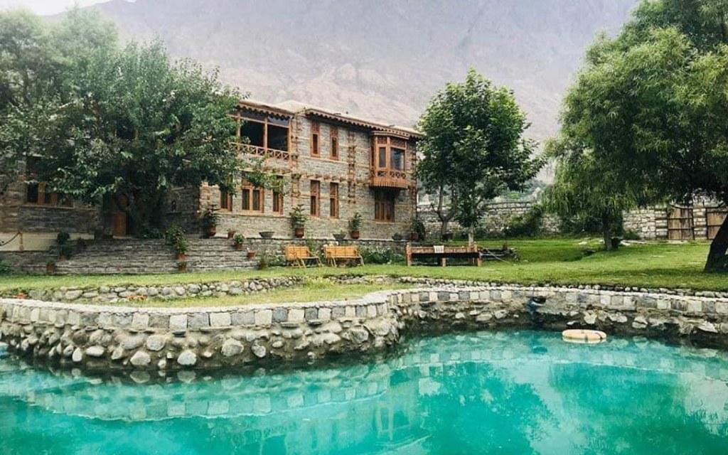 Riverdale Resort Hotel in Gilgit