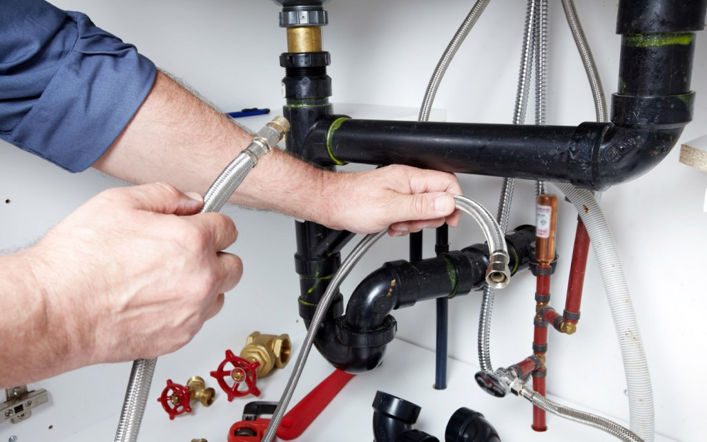 You don't need to break down the wall for repairs with exposed pipes