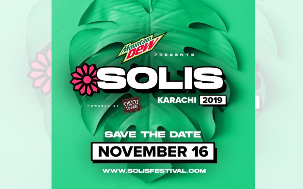 Solis Music & Arts Festival was initially held in Islamabad and Lahore