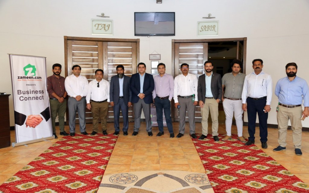 Management of Zameen Affiliate Programme in Faisalabad.