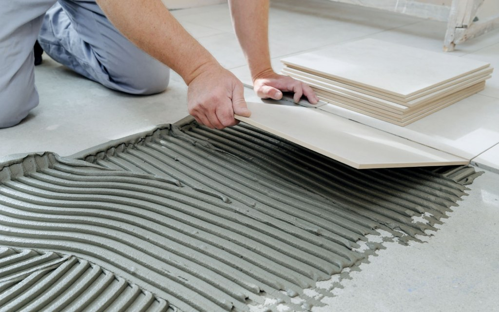 Installing tiles is a task best left for the pros