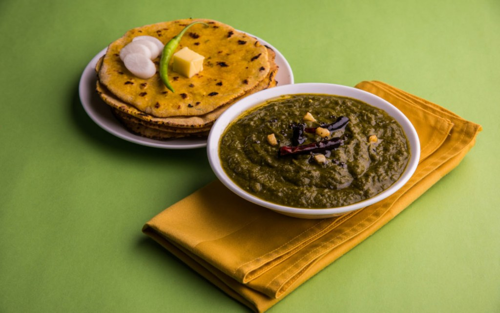 Sarson ka Saag is a top choice for winter delicacies in Punjab