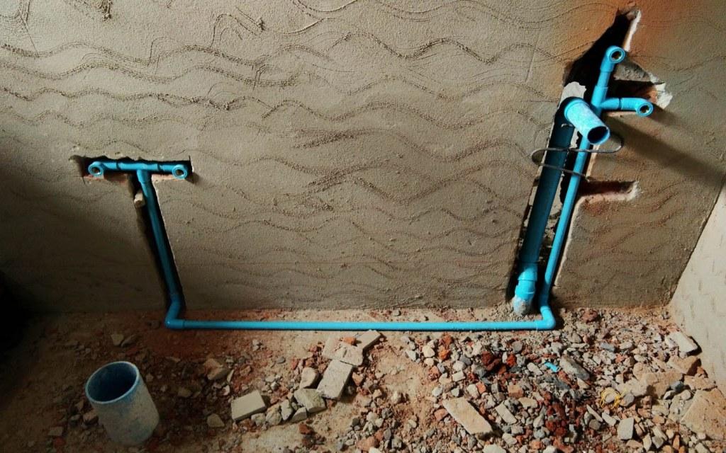 Repairing Concealed Plumbing is costlier and more extensive work