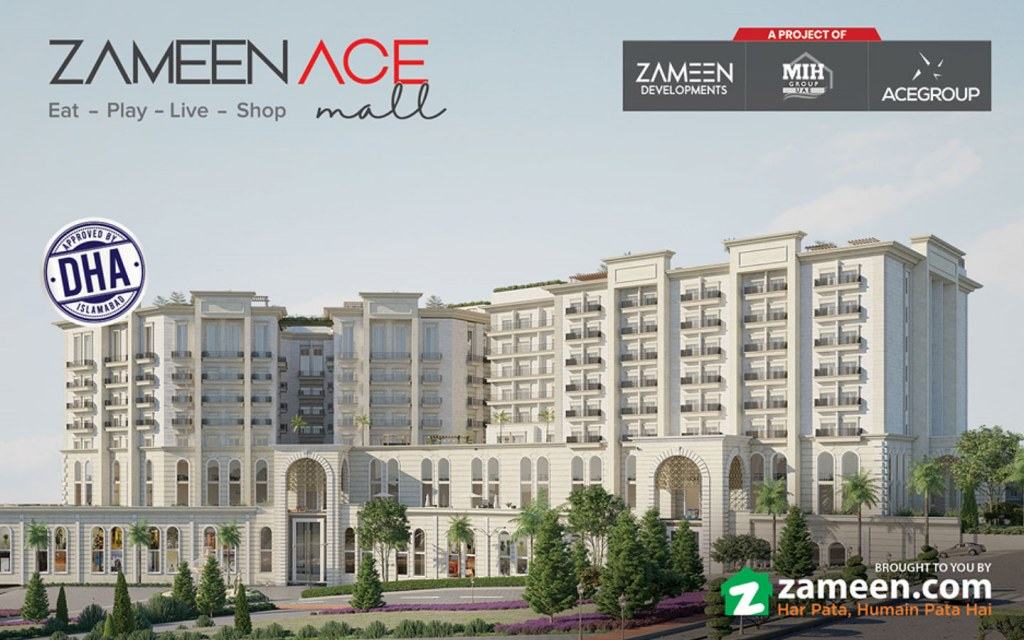 Beautiful Zameen Ace Mall during daytime