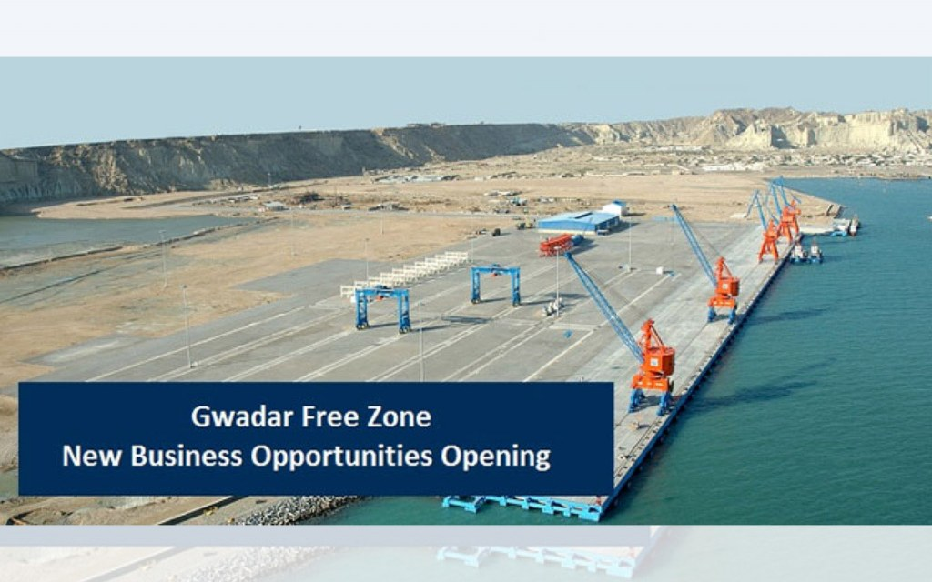 Gwadar free zone provides investment opportunities