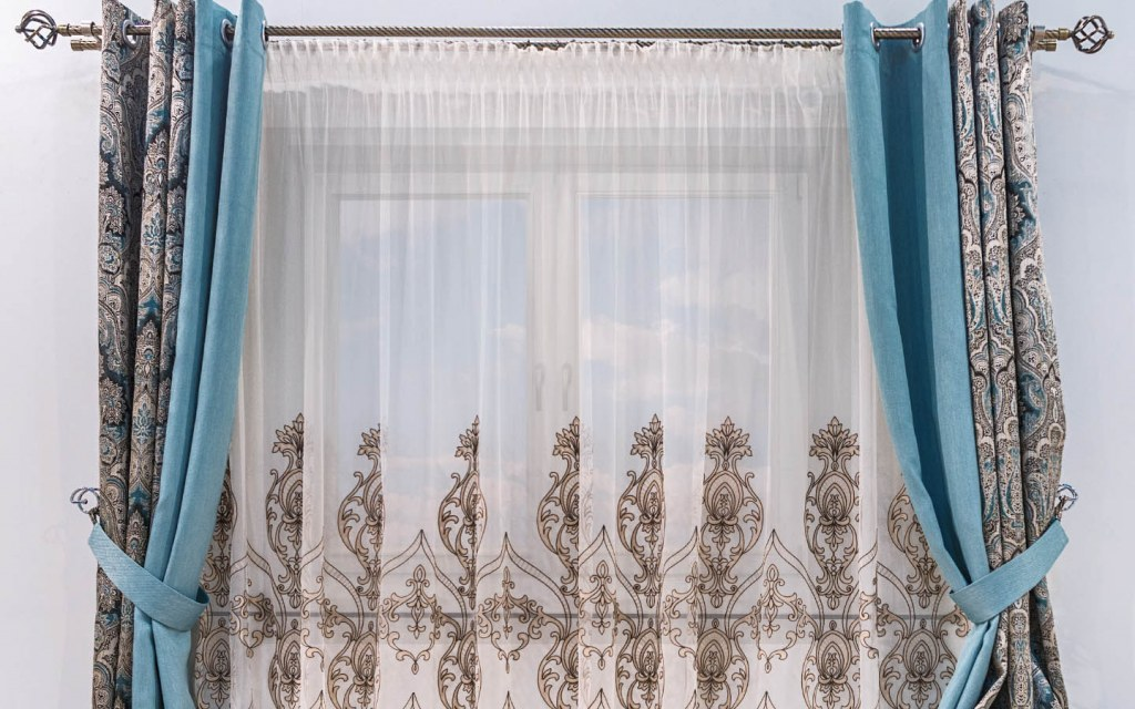 Curtains are more formal in appearance than blinds