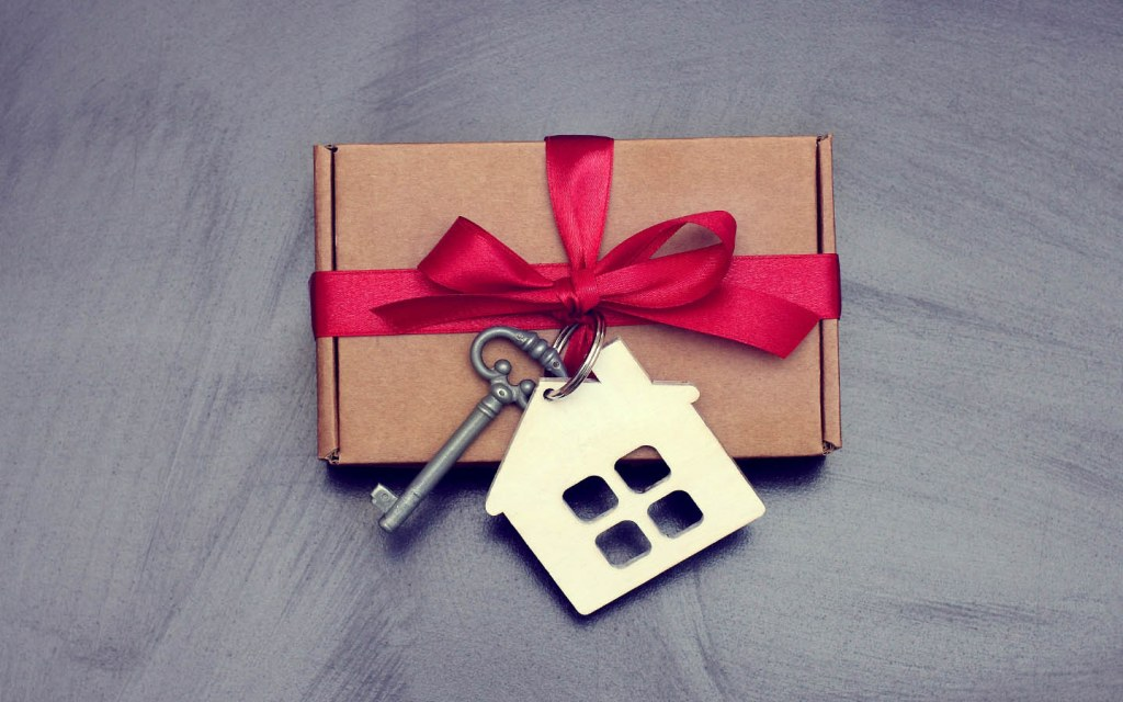 how to  gift a property to a family member