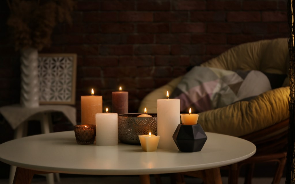 Get cosy home décor on a budget with candles