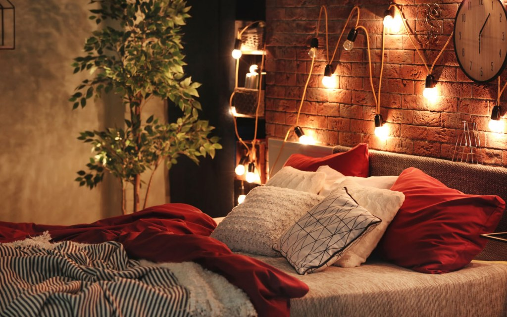 add more lights to your room to make it look bigger