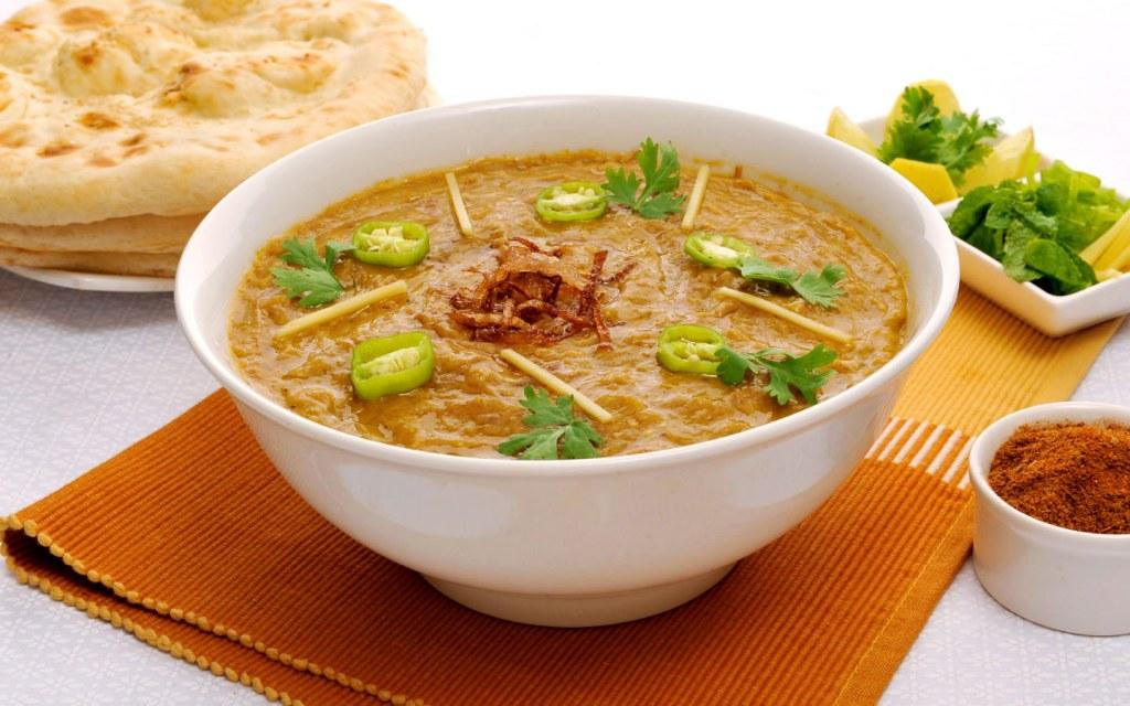 Hareesa is a symolic dish of Lahori Breakfast
