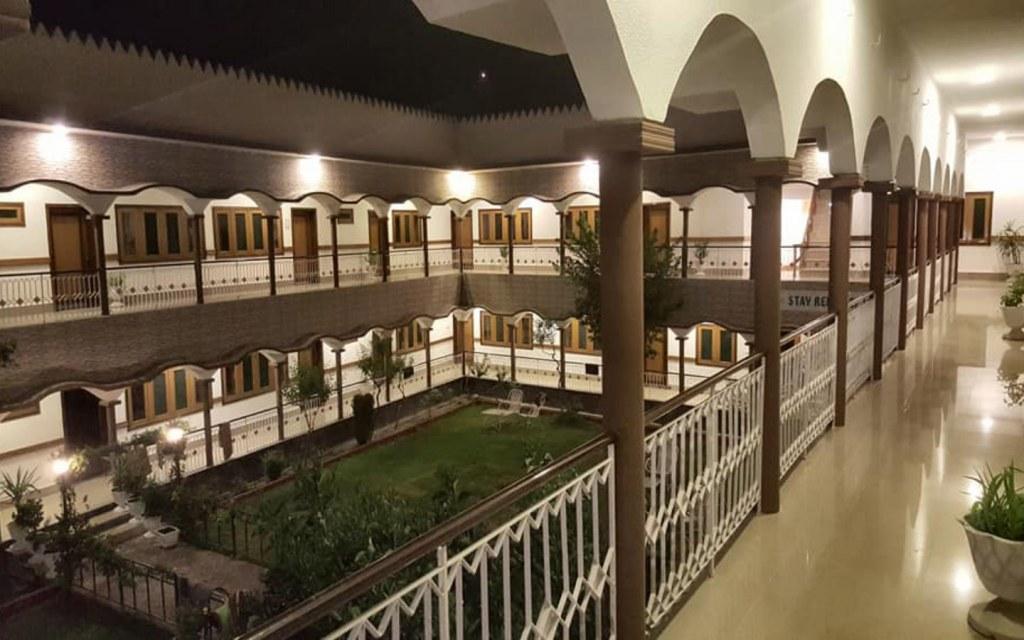 Interior of park hotel in Gilgit