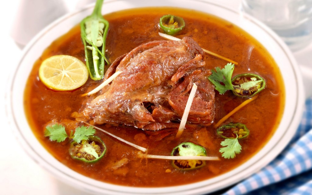 Nihari is a main course that is actually eaten for breakfast, lunch, and dinner