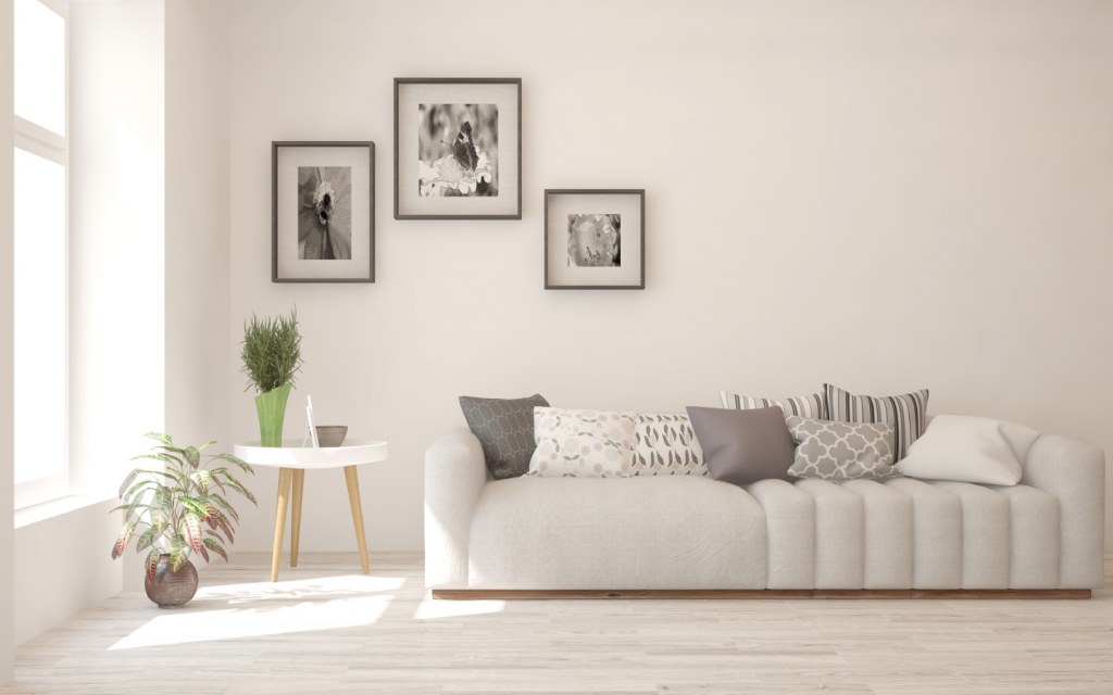 buying light coloured furniture