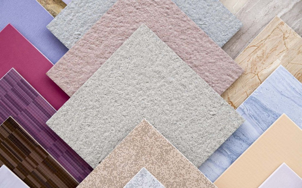 Ceramic tiles are commonly used in Pakistani homes