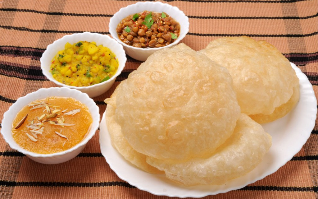 Enjoy the winter weather with warm puris and gravies