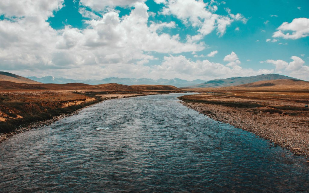 Bara Pani and Kaala Pani are two water bodies at Deosai National Park