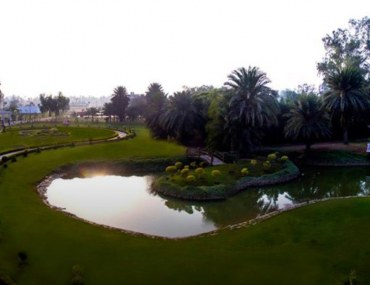 A view of Palm City Lahore