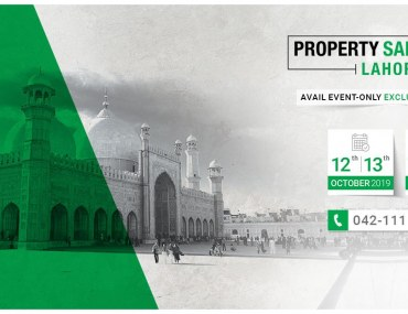 Property sales event Lahore in October 2019