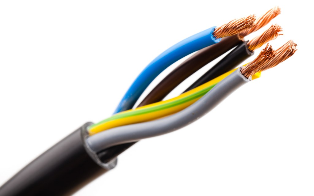Electrical cable with multiple wires to handle power load effectively