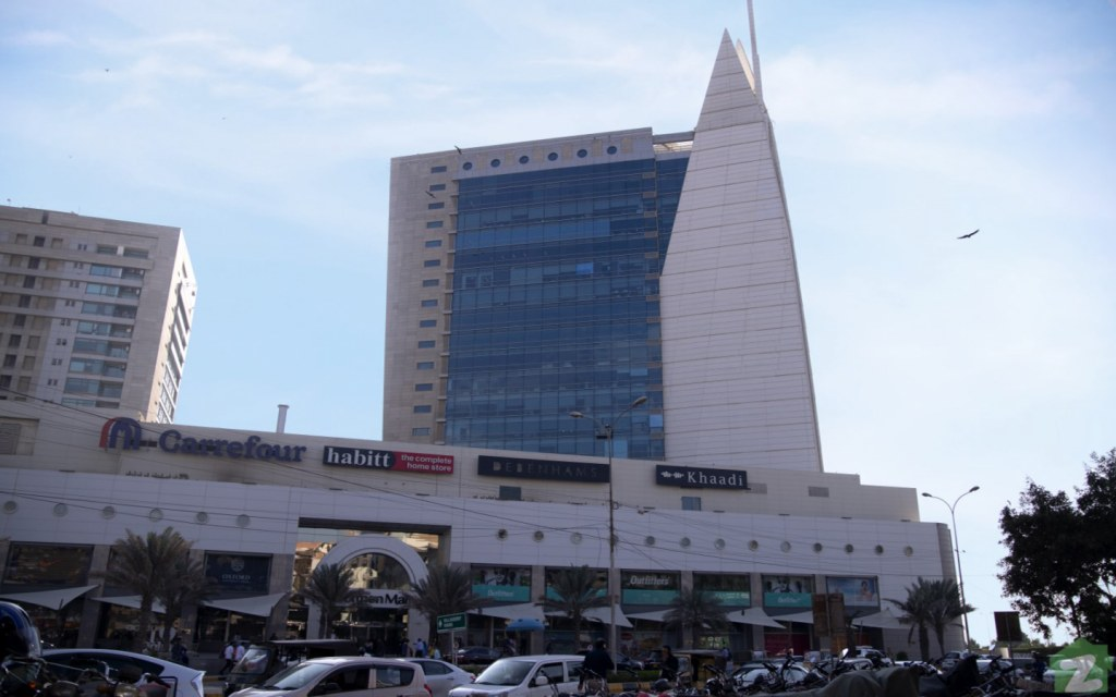 Dolmen Mall is in proximity to the food street