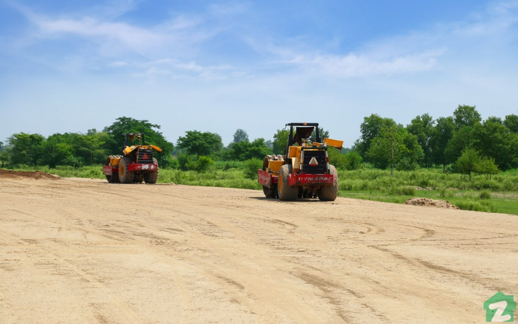 LDA city's development progress