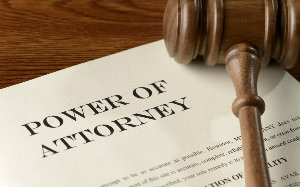 Power of attorney is a very important legal document