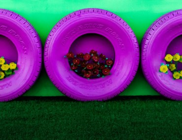 DIY Ways to recycle old tyres