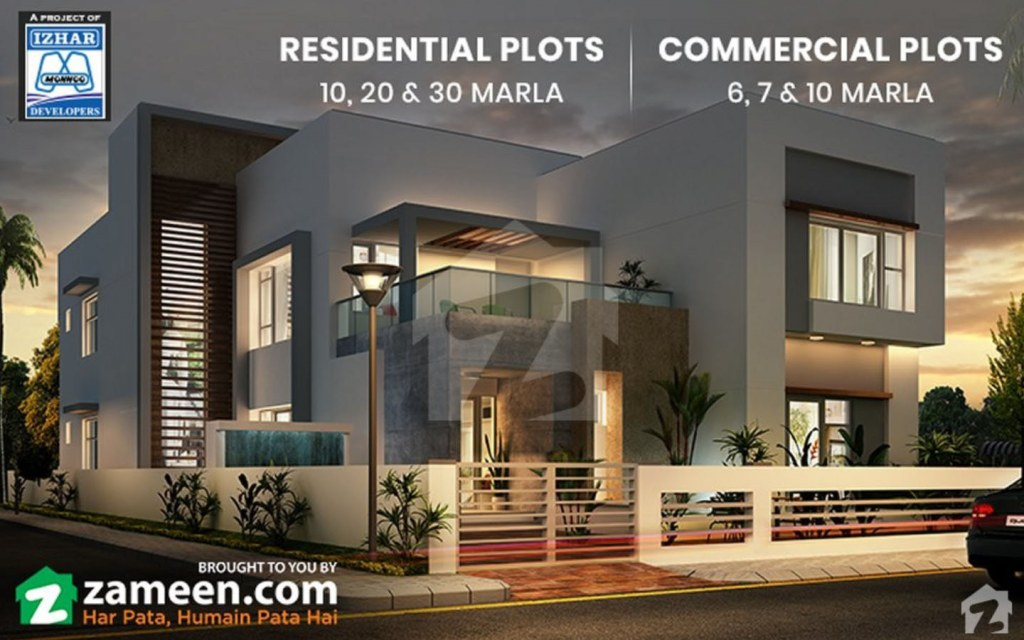 Invest in Residential or Commercial Property at Dream Gardens, Lahore