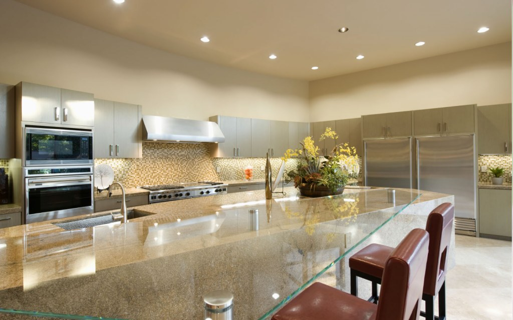 Another type of light fixture that is very common is Recessed Lighting