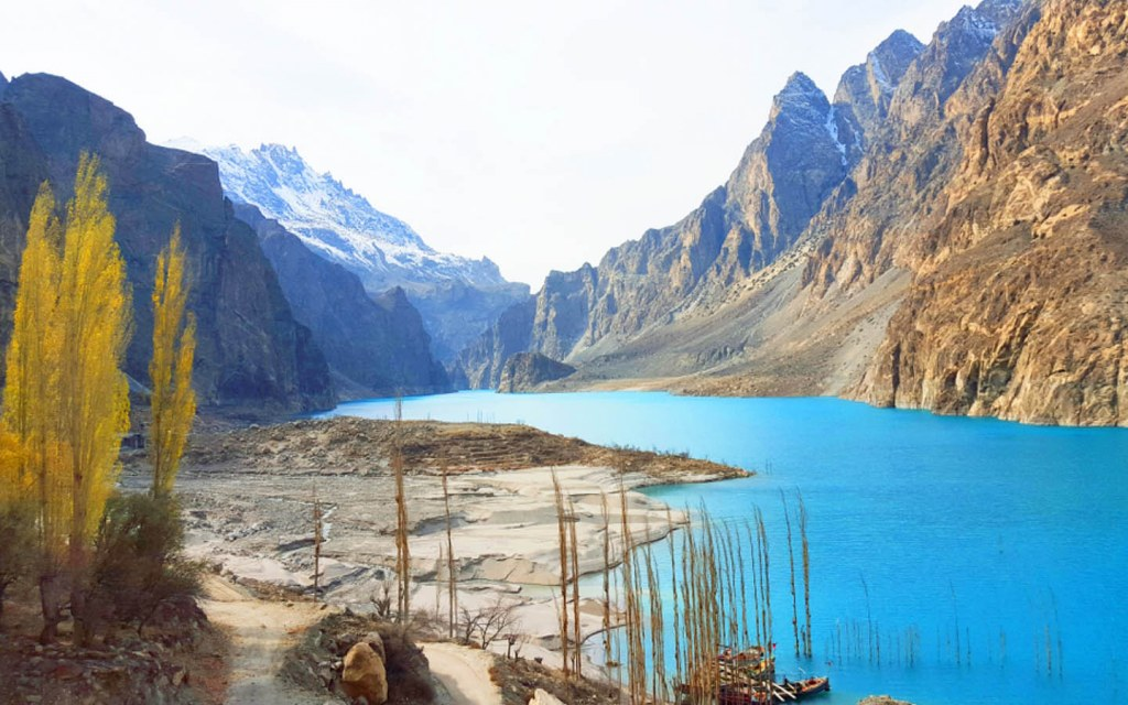 Attabad Lake is the largest lake in Gilgit-Baltistan