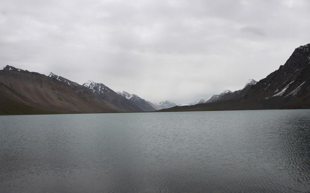Karambar Lake is a scenic lake at 14,000 feet