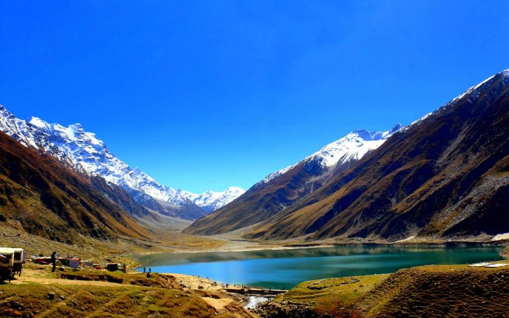 Saif-ul-Maluk Lake is one of the most beautiful lakes in Pakistan